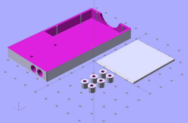 NB-6L Holder - build layout