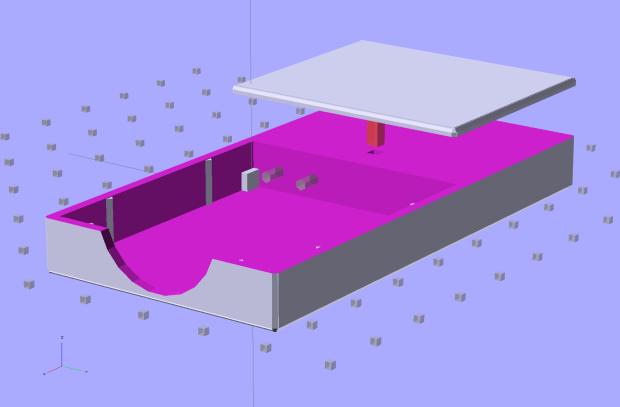 NB-6L Holder - fit layout