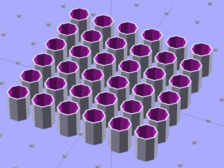 Quilting Pin Cap - array