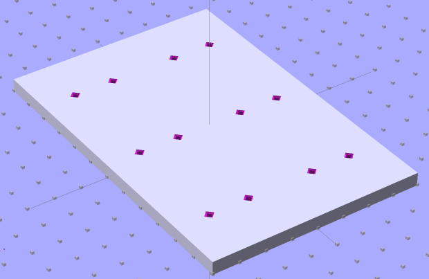 SqWr Positive Mold Framework - 2x3 pins