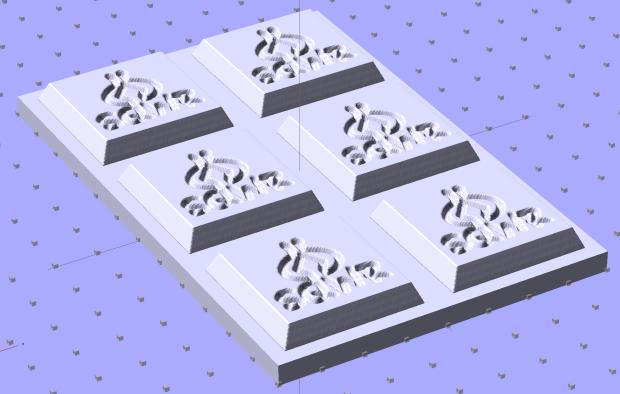 SqWr Positive Mold Framework - 2x3