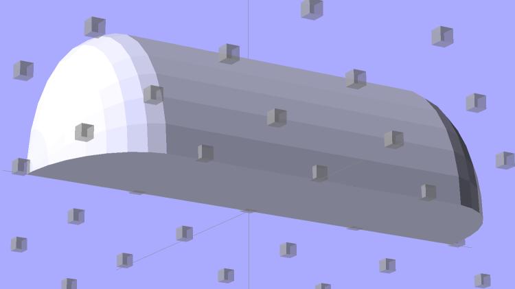 Strip Light Mount - no wiring channels