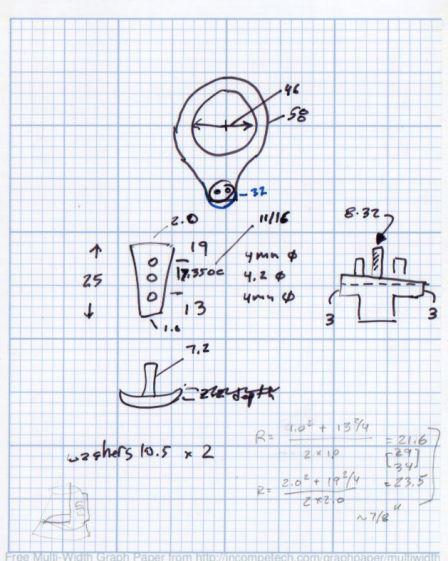 Desk Lamp Bracket Dimensions - doodle