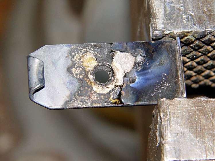 Browning floor plate - nut 1 test