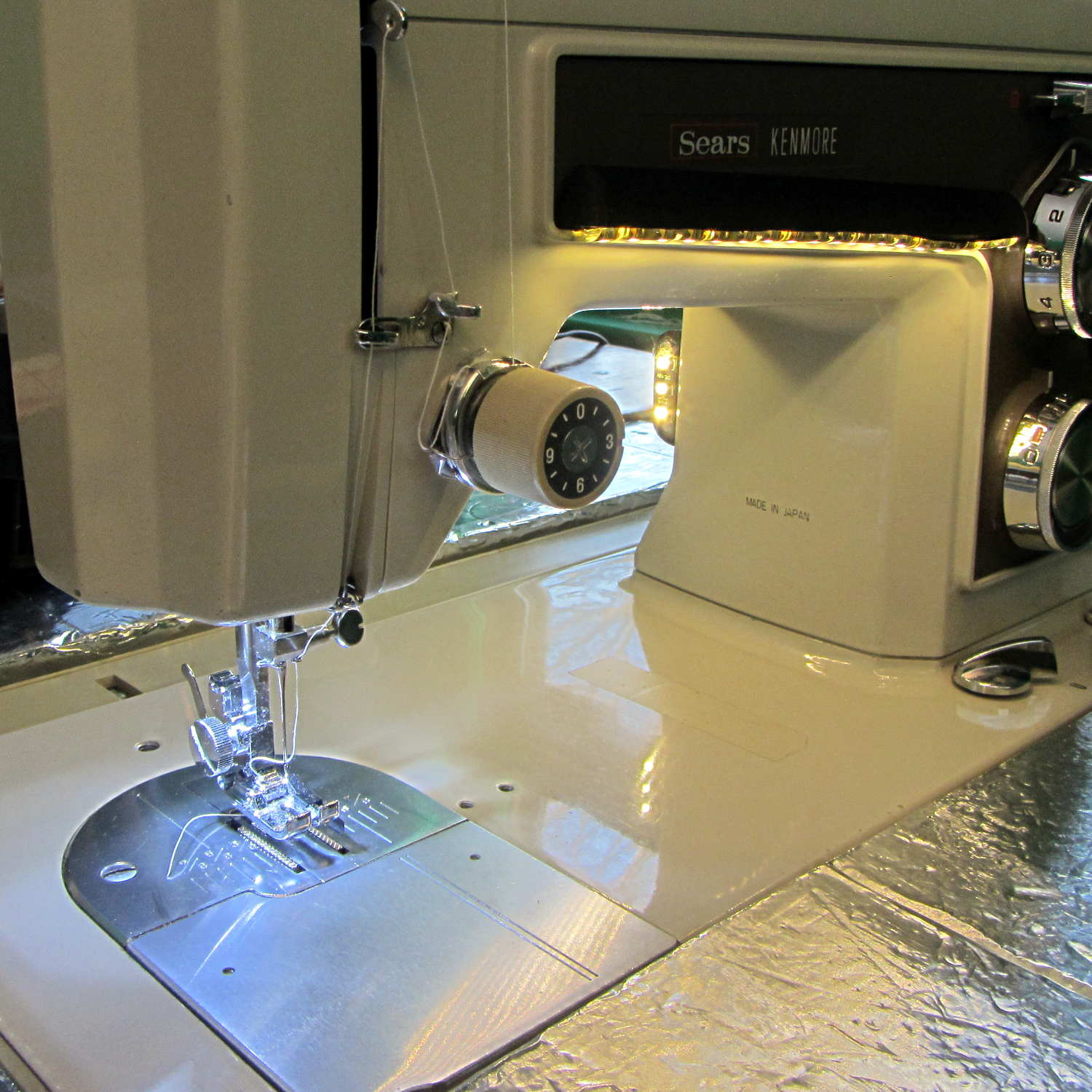 kenmore sewing machine light bulb replacement