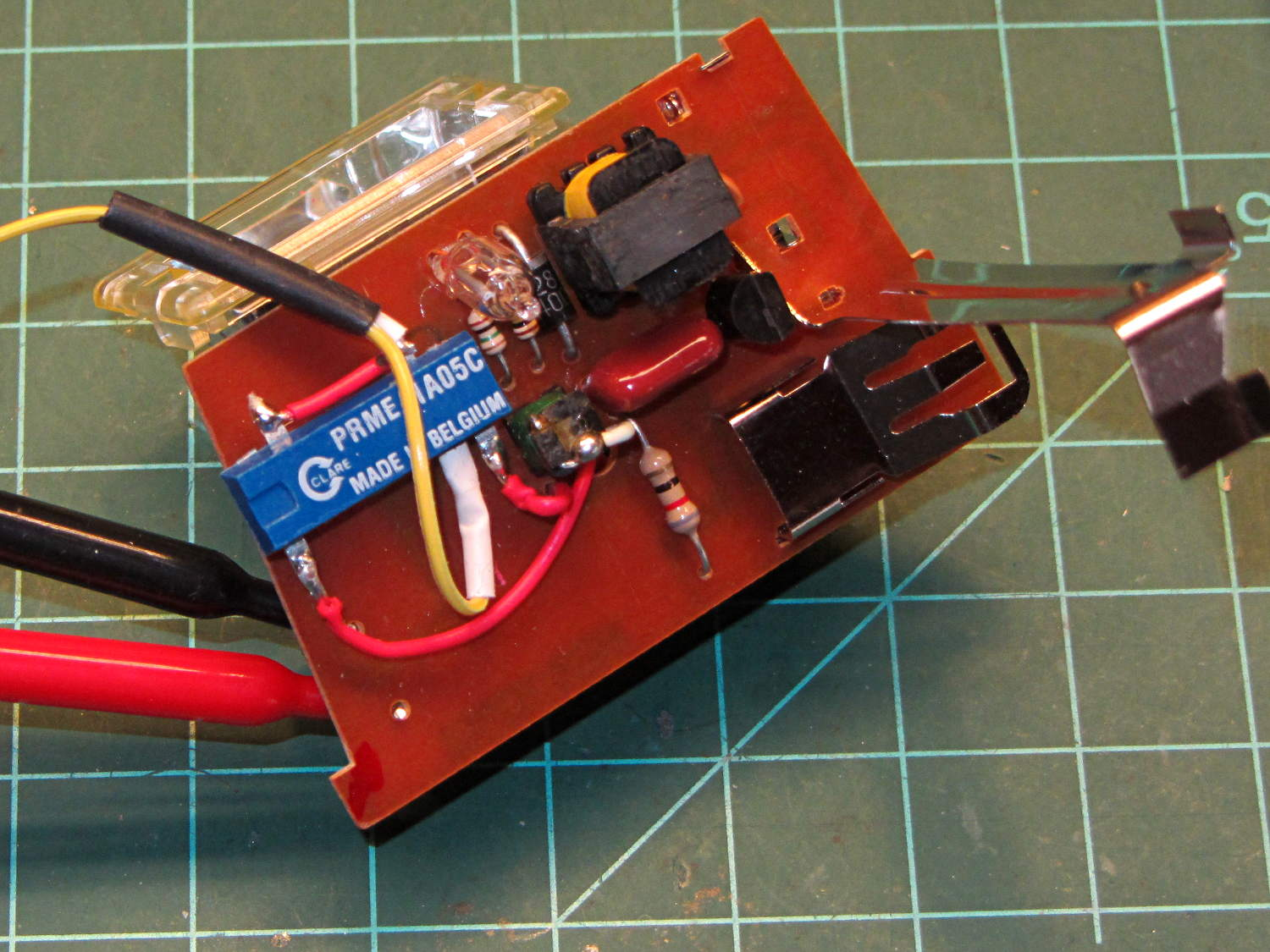 Digitally Triggered Xenon Flash The Smell Of Molten Projects In Strobe Circuit Prme 1a05c Relay