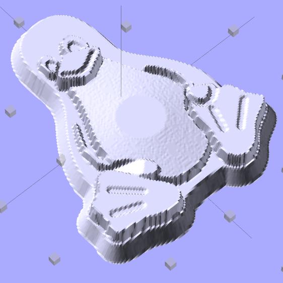 Tux-Gradient - Solid Model