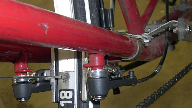 Tour Easy rear brakes