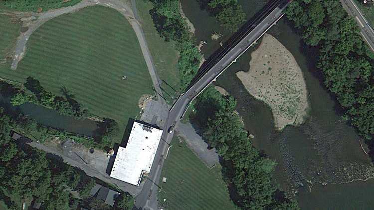 Hummelstown PA water plant - overhead - ca 2013