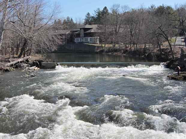 Red Oaks Mill Dam - 2014-04-06