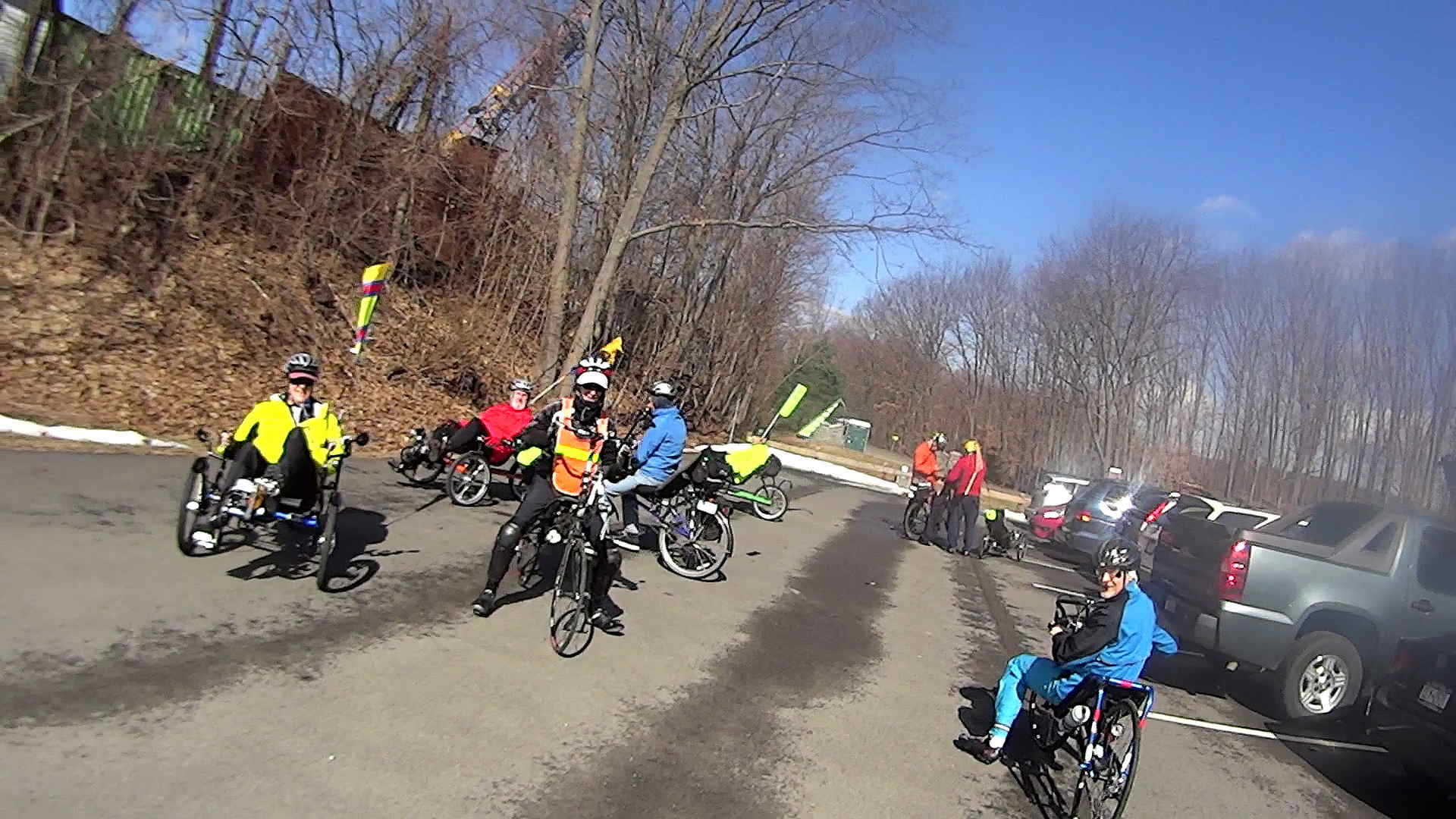 recumbent riders hopewell junction depot 2014 04 05 - Muster Depot