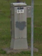 Signal Control Box ID by Google Streetview