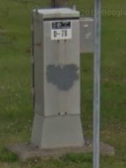 Signal Control Box ID by Google Streetview