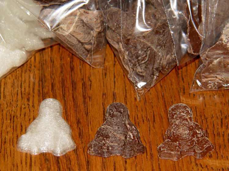 Tux in PLA - Dark - Milk Chocolate