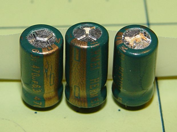 Dell 2300 failed capacitors - grouped