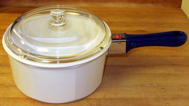Nouveau Ceramic Pan - assembled