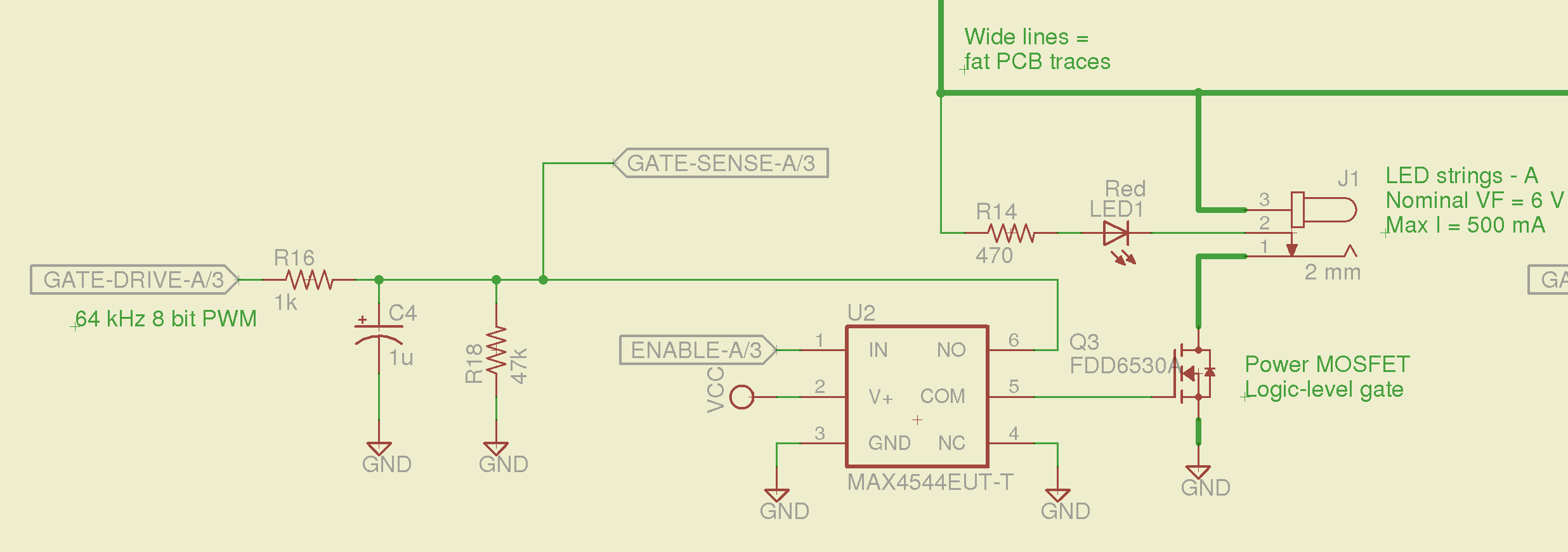 Hall Effect Switch Schematic Diagrams Sensor Wiring Diagram Http Wwwclearriceedu Elec201 Led Current Control Switched Mosfet Gates The Smell Transistor Circuit