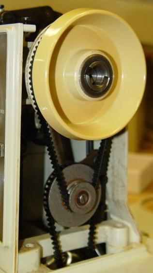Kenmore 158 - handwheel - jackshaft pulley