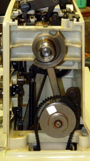 Kenmore 158 - main shaft counterweight