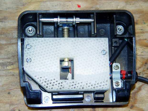 Kenmore 158 - Hall speed control - prototype interior