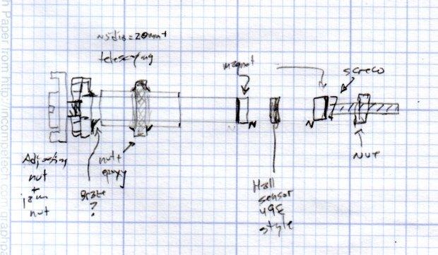 Hall effect distance sensor - original doodle