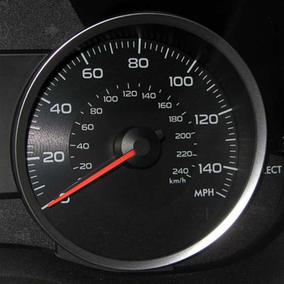 Subaru Forester - speedometer