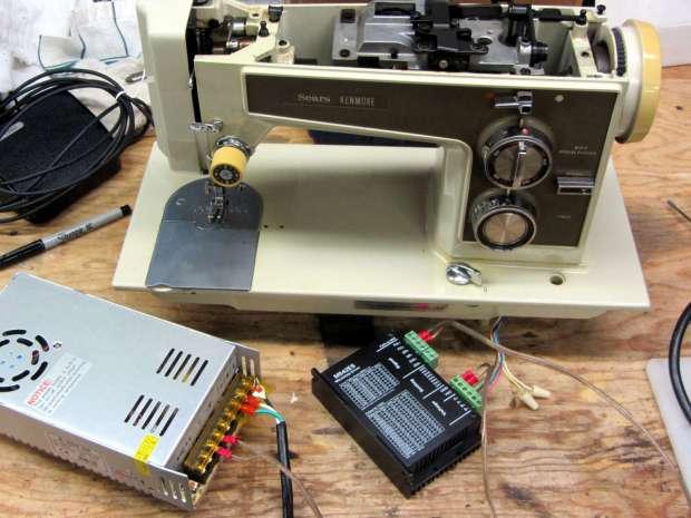 Kenmore 158 - NEMA 23 stepper test