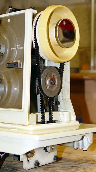 Kenmore 158 - reversed jackshaft pulley