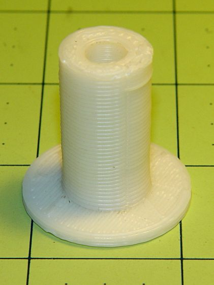 Large spool adapter - old TOM version