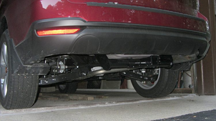 Forester trailer hitch - installed