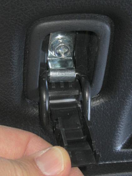 Forester cargo tiedown - screw location