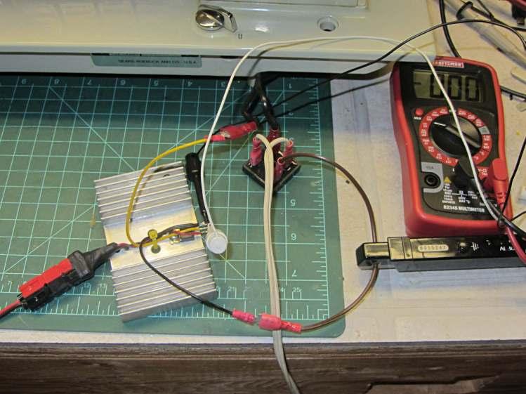 Kenmore 158 - FW bridge MOSFET test