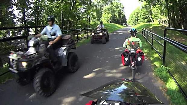 DCRT - Sheriff ATV Convoy