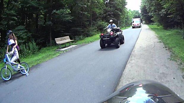 DCRT - Sheriff ATV Leading Ambulance