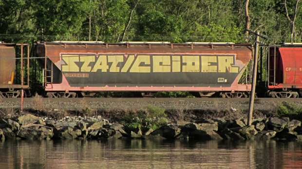 StaticCider railcar tag sighting - Hudson NY
