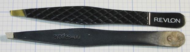 Revlon tweezers - bad spot welds
