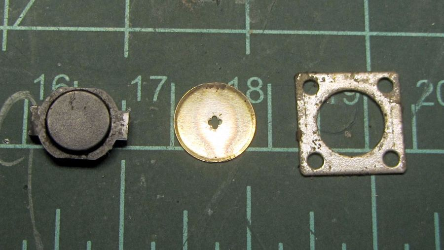 Handlebar PTT switch - components