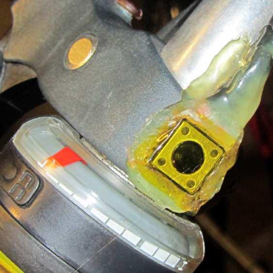 Handlebar PTT switch - kapton cover