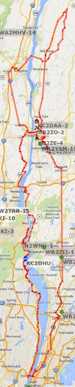 KE4ZNU route - 2014-07-28 through 2014-08-04