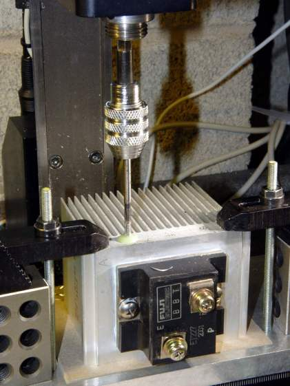 ET227 Heatsink - tapping