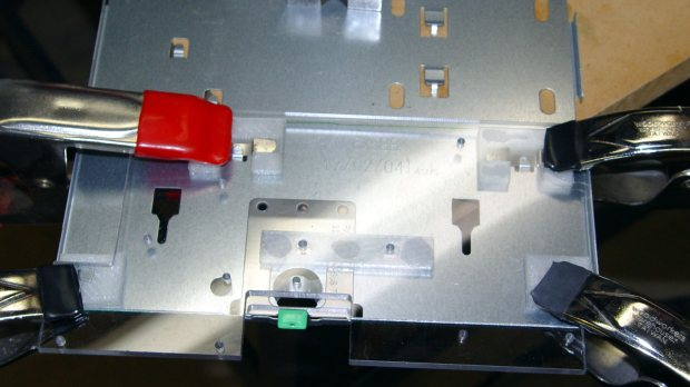AC Chassis - gluing bracket blocks
