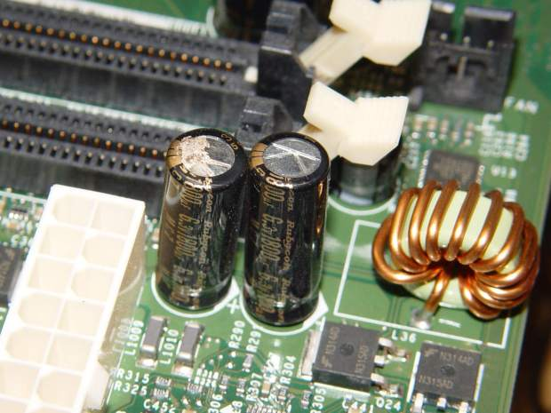 Capacitor plague - 2004 Dell Edition