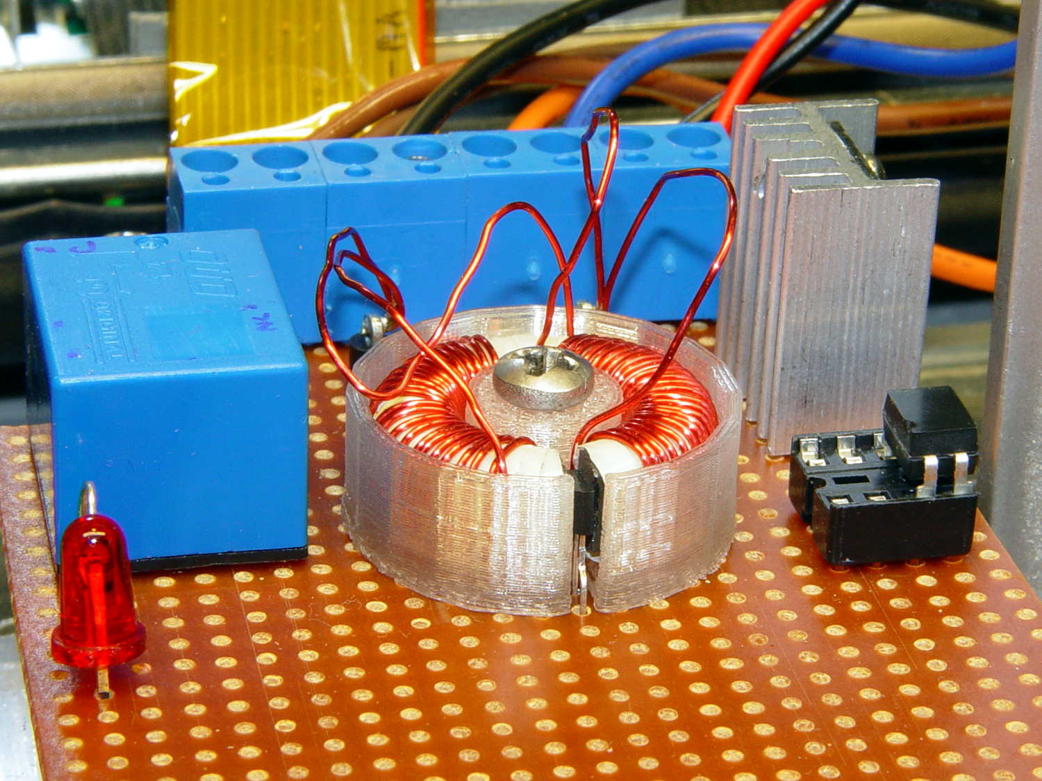 Hall Effect Motor Current Sensing The Smell Of Molten Projects In Circuits Hv Interface Board Detail