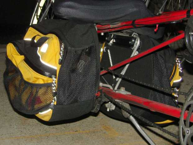 Arkel RT-40 bag on Tour Easy - front view