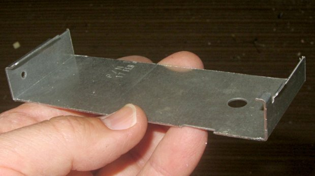 Dell drive bracket - second bandsaw pass