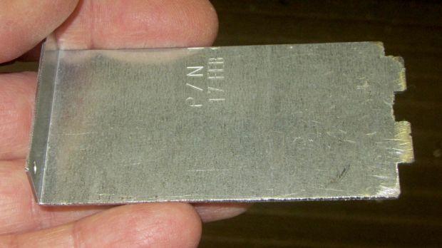 Dell drive bracket - basic outline