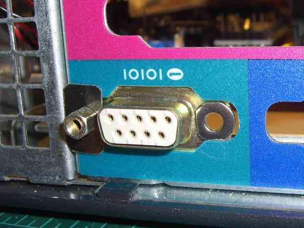 LED and Sensor DB9 - mounting
