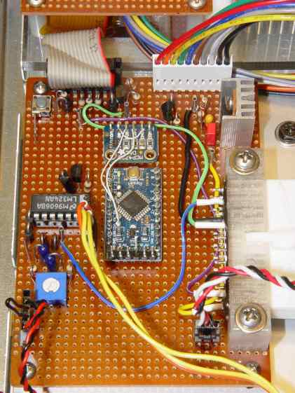 Low Voltage Interface Board - detail