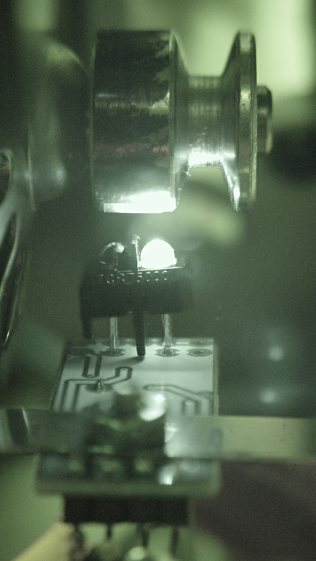 TCRT5000 sensor - IR view