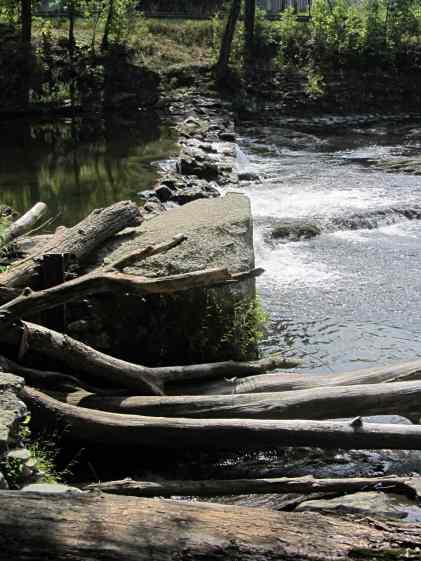 Red Oaks Mill dam - 2014-09-06